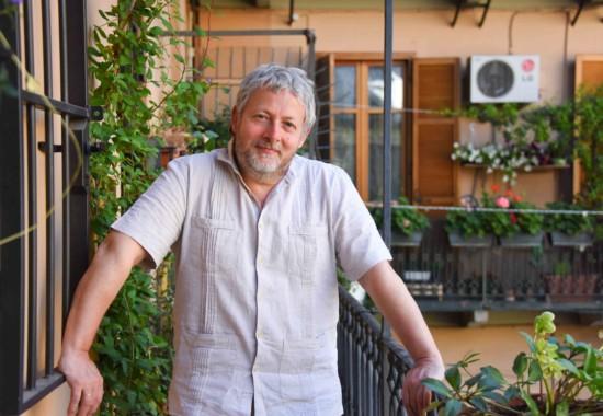 トリノの自宅でのビオンディ